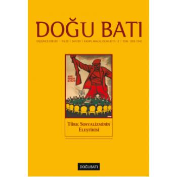Doğu Batı Sayı 59: Türk Sosyalizminin Eleştirisi