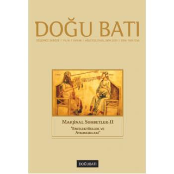 Doğu Batı Sayı 66: Marjinal Sohbetler - II