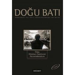 Doğu Batı Sayı 12: Türk Düşünce Serüveni: Akademidekiler