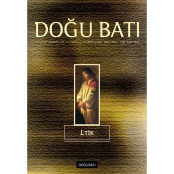 Doğu Batı Sayı 04: Etik