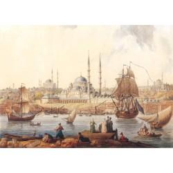 Yeni Camii ve İstanbul Limanı