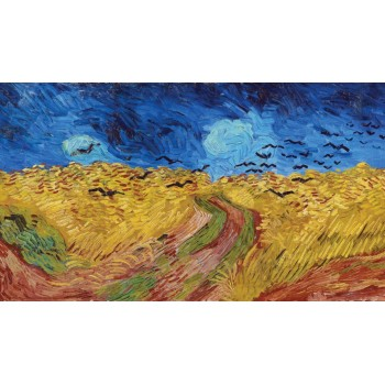 Buğday Tarlası ve Kargalar